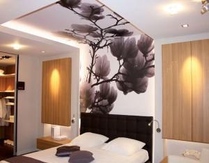 тканевой потолок