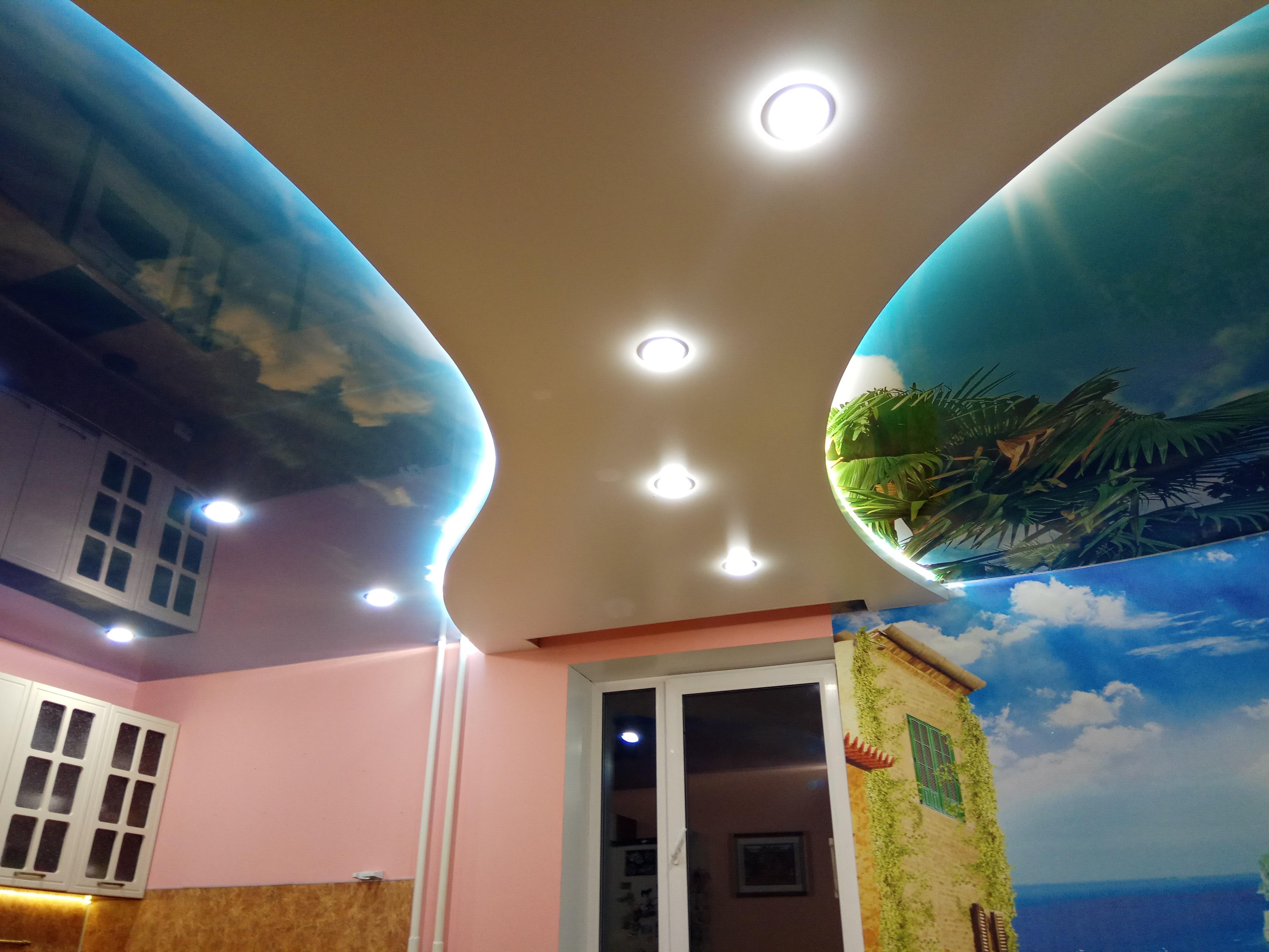 Балетки под натяжной потолок фото вот